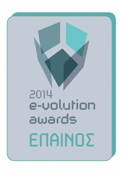 E-volution awards stickers 2014 epainos